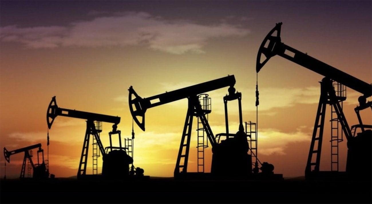 Imagem de extração de petróleo