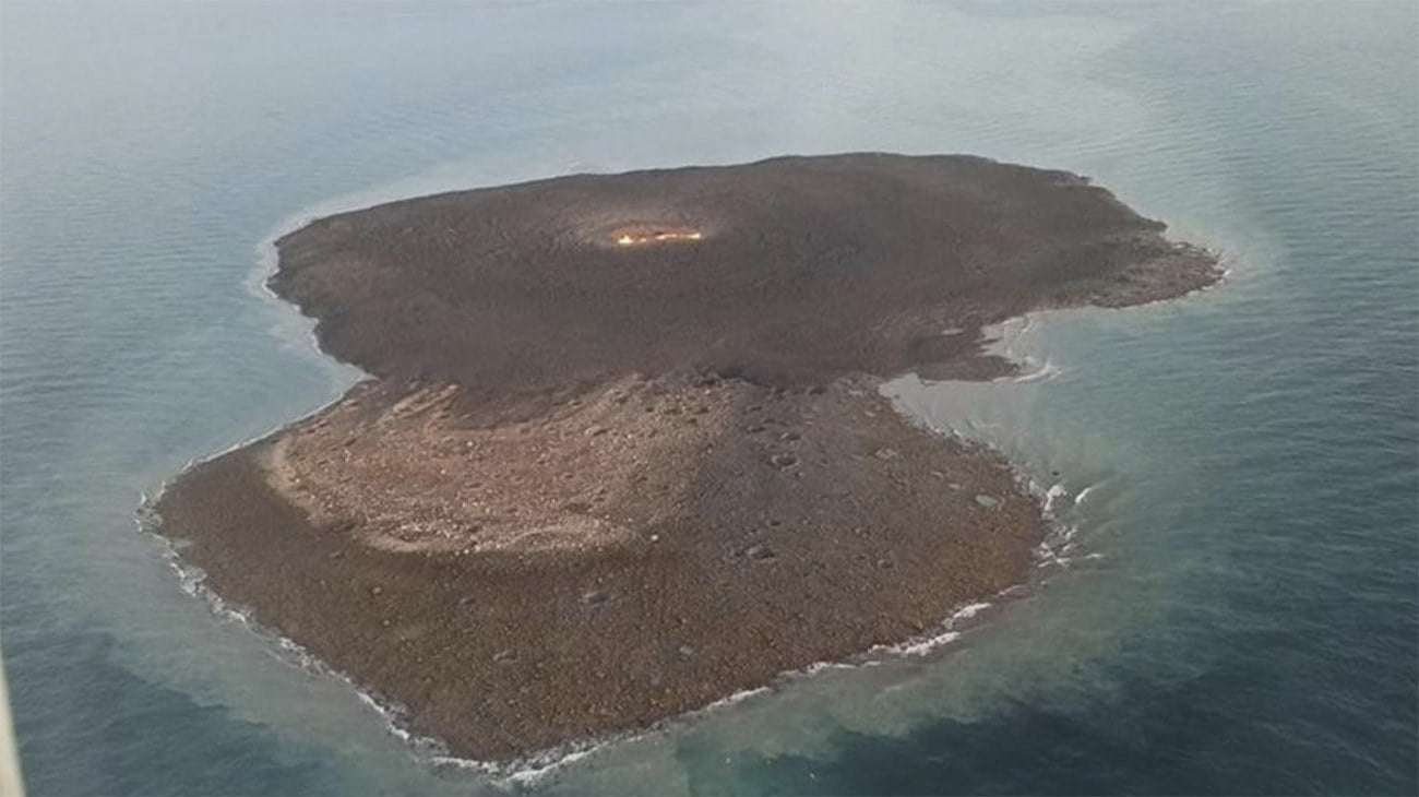 Imagem de vulcão de lama