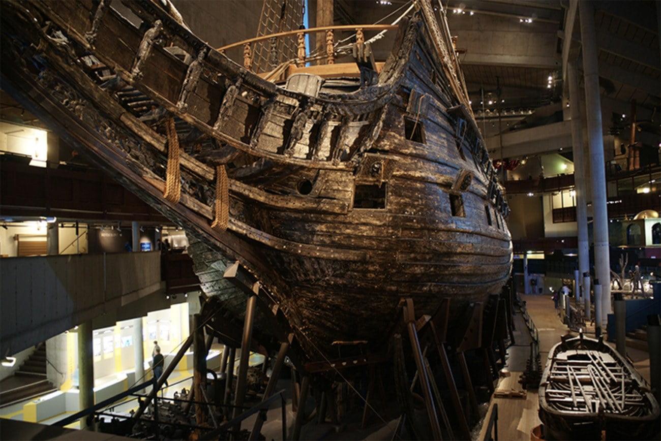 Imagem do navio Vasa