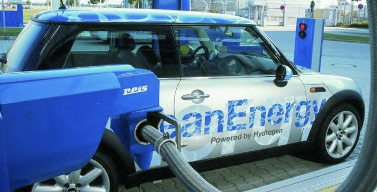 Imagem de carro movido a hidrogênio
