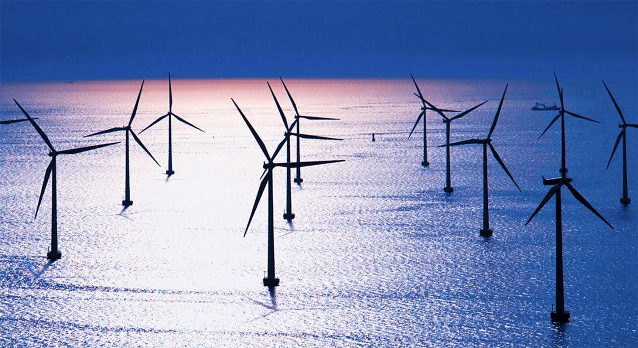 Imagem de energia eólica offshore