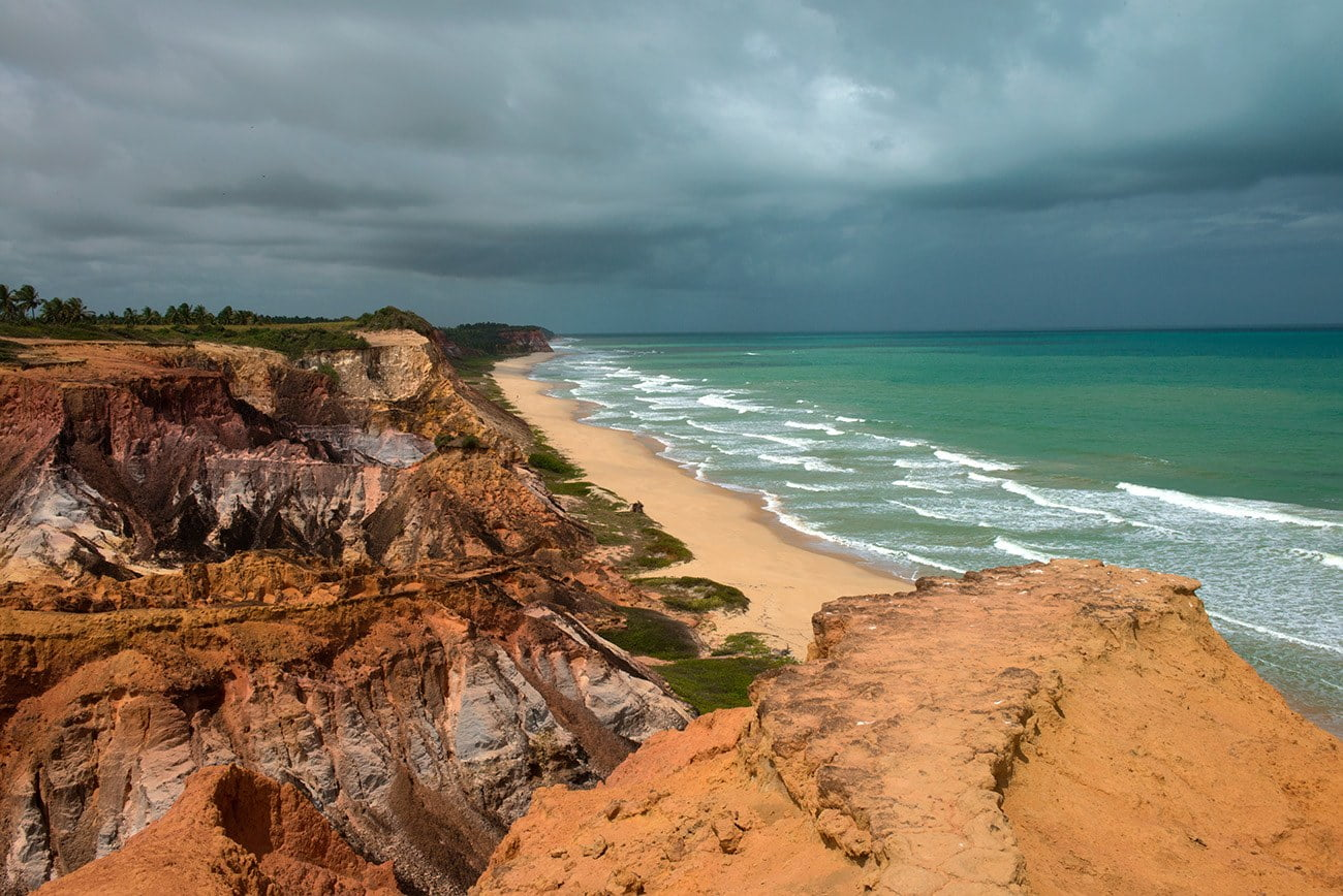 Imagem de praia Marrom