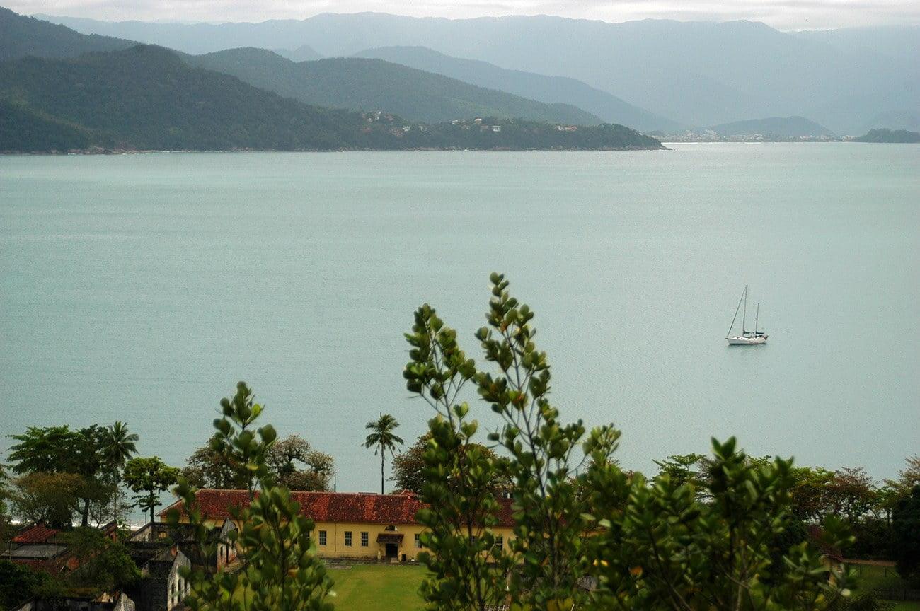 Imagem do entorno da Ilha Anchieta