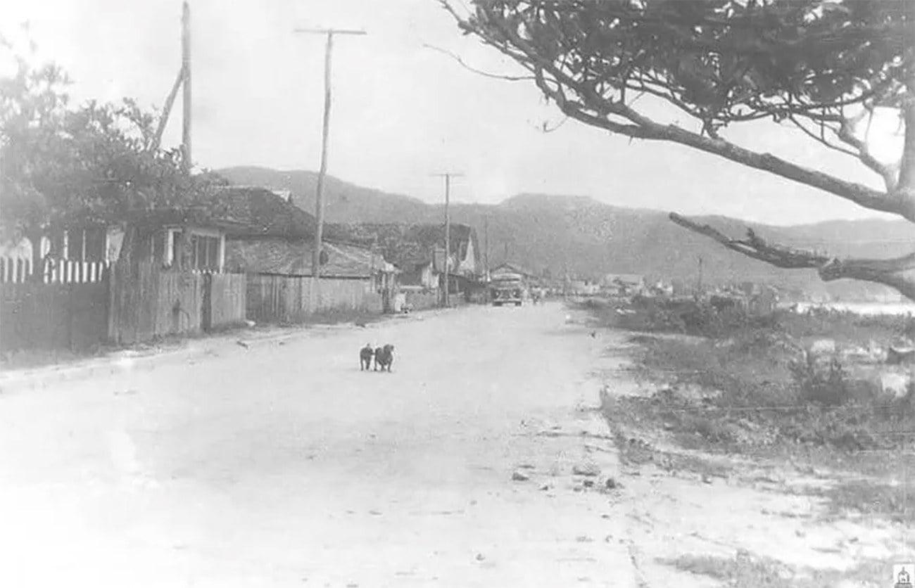 Imagem do Balneário de Camboriú em 1950