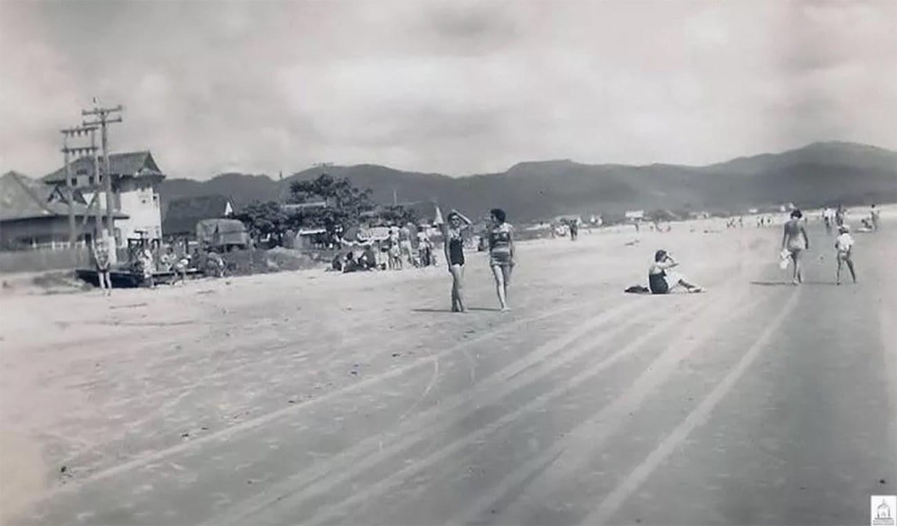 Imagem do Balneário de Camboriú em 1940