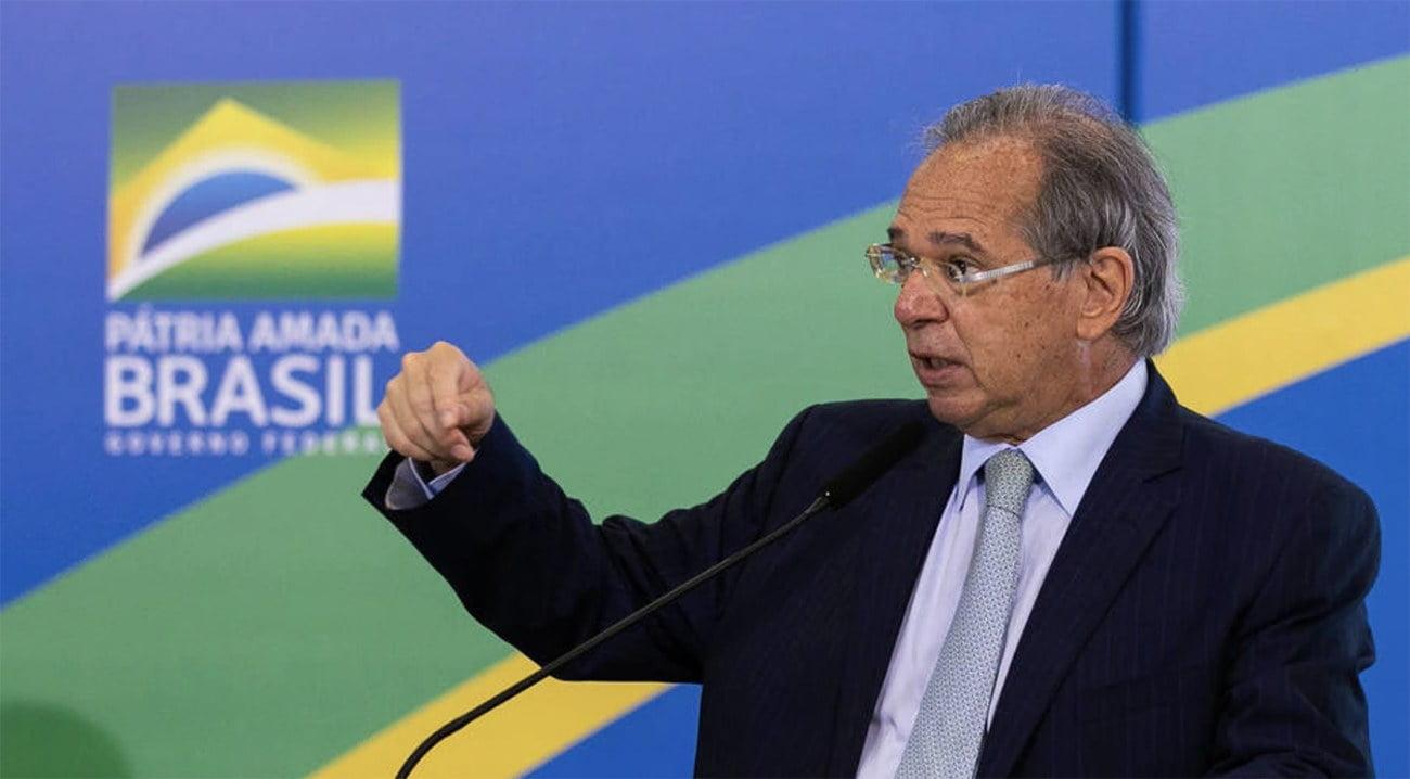 Imagem de Paulo Guedes do Ministério da Economia