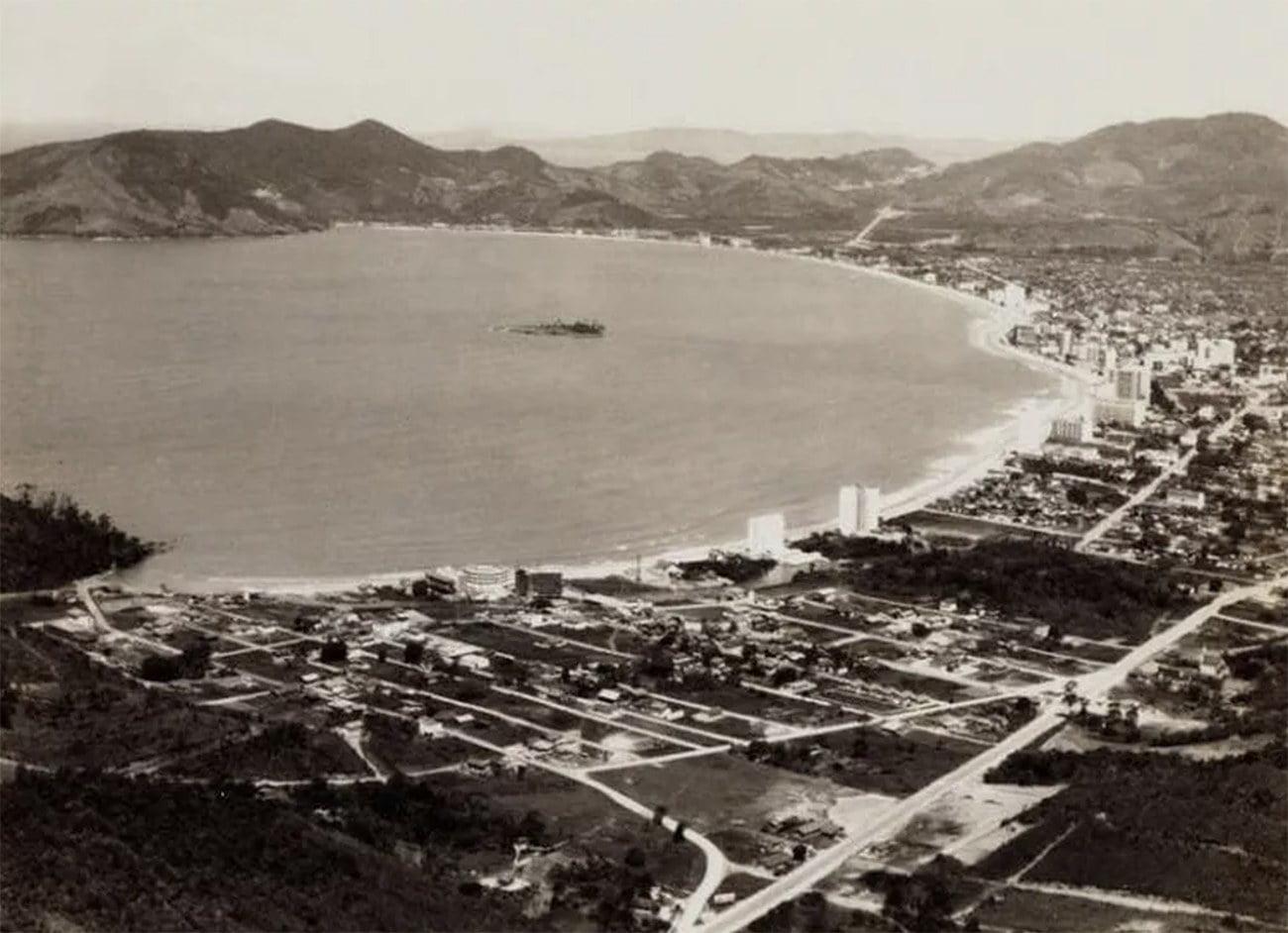 Imagem do Balneário de Camboriú em 1970