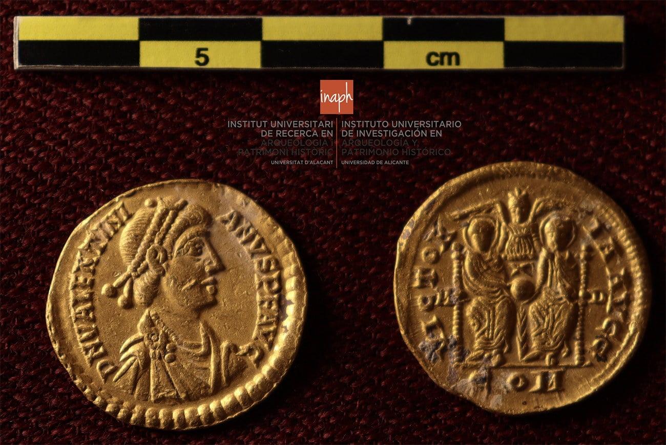 Imagem de moedas de ouro