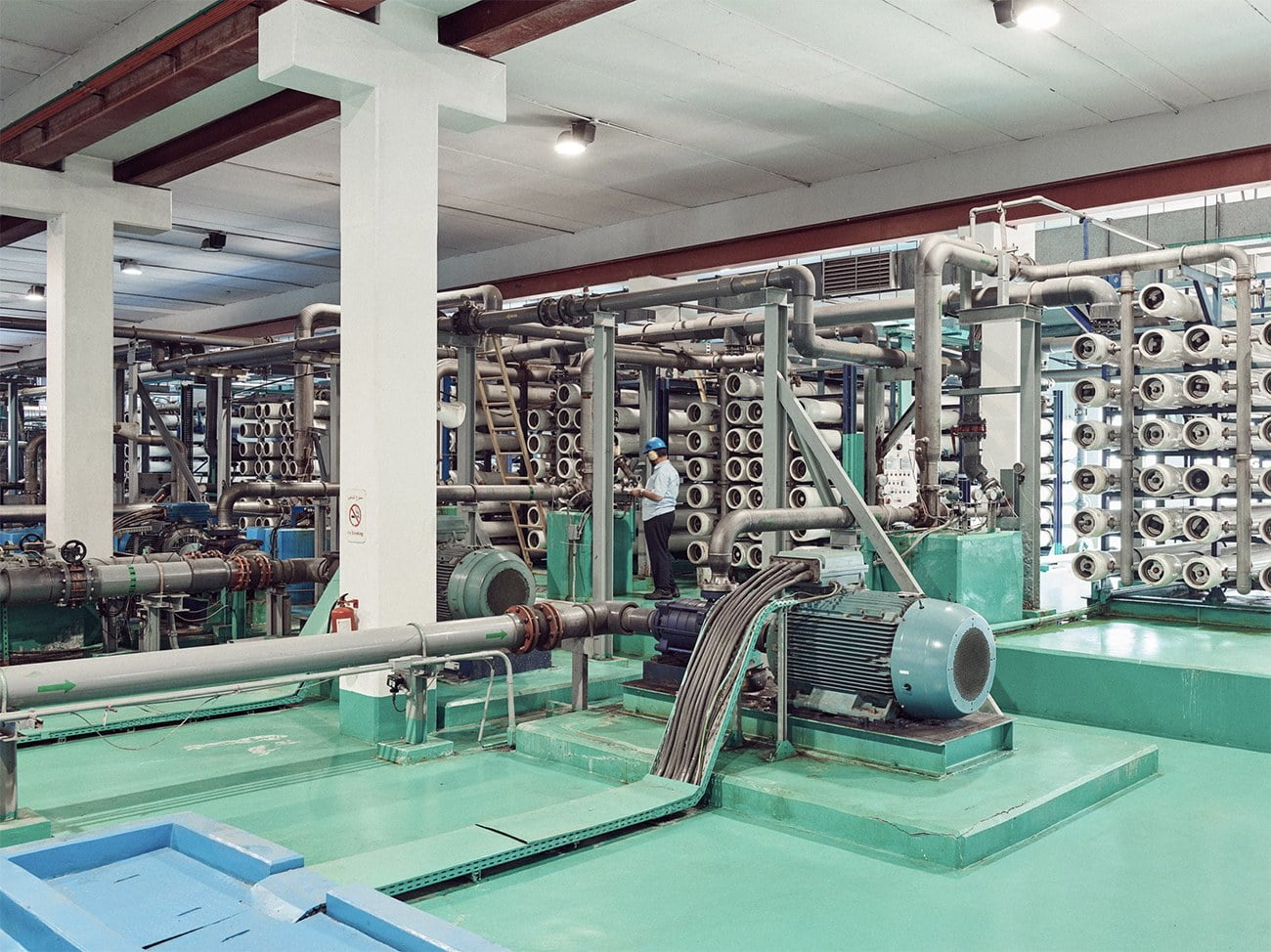 imagemde usina de dessalinização