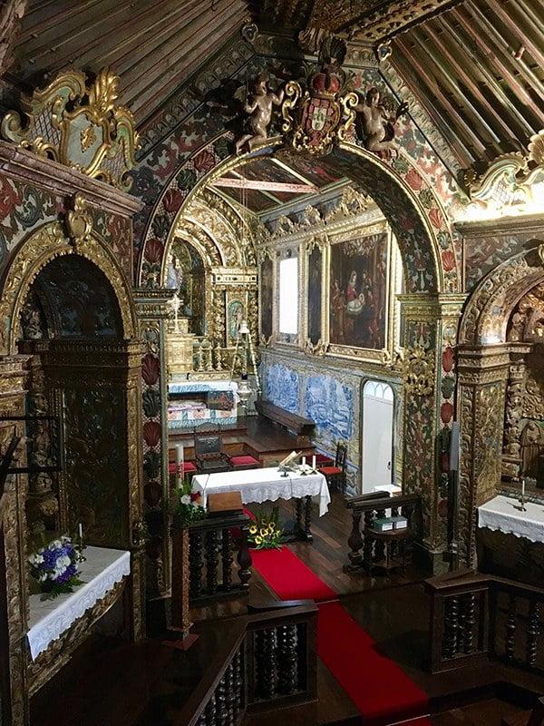 Igreja de Santa Barbara, Ilha São Jorge,