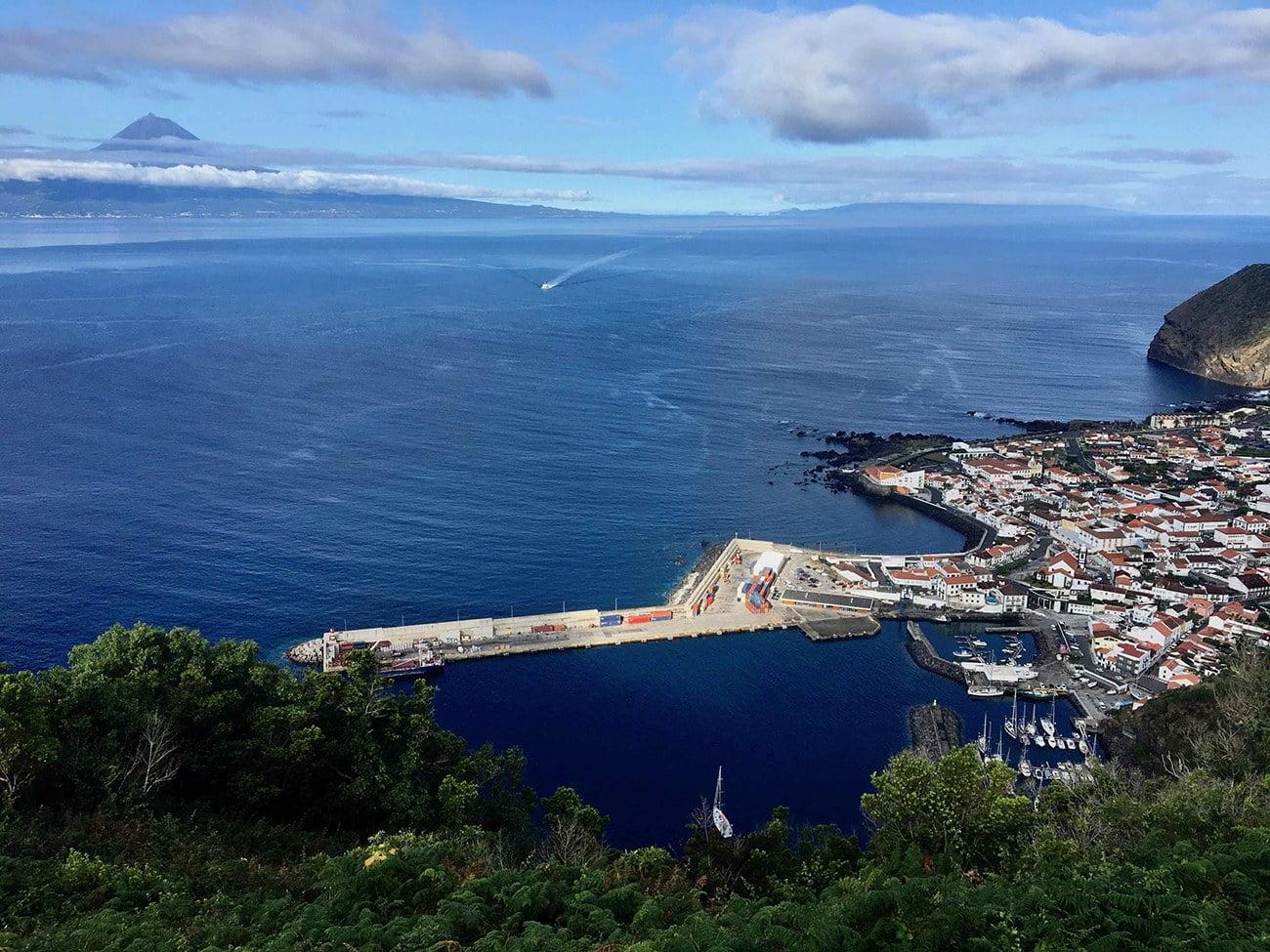 Ilha de São Jorge.